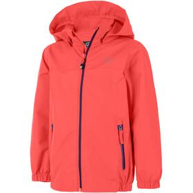 Color Kids Thinus Jacket Kids fiery coral